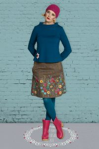 Sofias Autumn skirt.