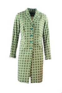 Zilch trenchcoat petrol. 2XL.