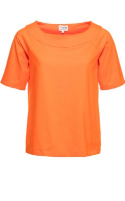 Charlesbluse Carmen orange.
